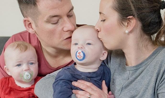 Husband with Klinefelter syndrome has Kids
